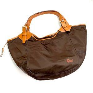 Dooney & Bourke Brown Nylon Large Purse Erika Bag
